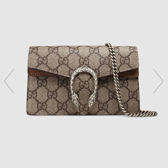 5b9d210f67c GUCCI Dionysus GG Supreme mini chain shoulder bag